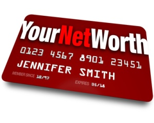 Your Net Worth Credit Card Debt Rating Value