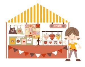 Crafts- Market /Craft fair with stall holder