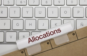 Allocations. Clavier